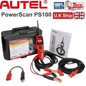 Autel PowerScan PS100 Electrical System Diagnosis Tool Circuit Tester 12.0/24.0V