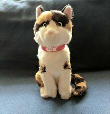 "FAO SCHWARZ Toys R Us Calico Kitty Cat Purrfect Plush Stuffed 12"" EUC RESCUE"