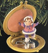 Hallmark 1998 Keepsake Ornament Compact Skater Christmas Collectible- New