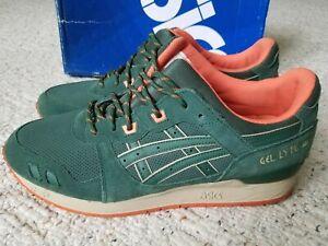 Asics Gel-Lyte III 'Outdoor Pack' Men's Size 13 Dark Green / Orange H427L-8080