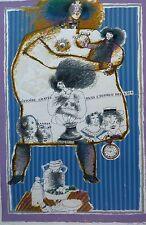 """Theo Tobiasse """"Histoire gravee de Dans L'ecorce Des vies"""" HAND SIGNED Lihograph"""