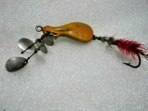 Extremely Rare Old Vintage Jack's Dual Spinner Lure Lures