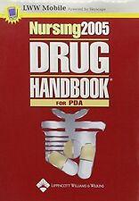 NEW Nursing  2005 Drug Handbook For Pda (Nursing Drug Handbook (PDA Edition))