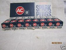 8 AC Spark Plugs Plug R46N Acniter 4 Green Rings 1970-73 Cadillac 1964-69 chevy