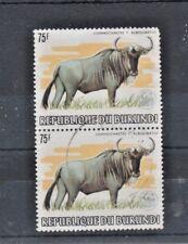 REPUBLIQUE DU BURUNDI. SG1409. FINE USED. PAIR. CAT:- £280.