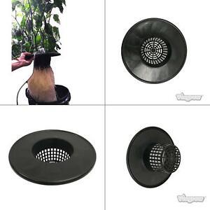 6 in. black mesh pot bucket lid insert