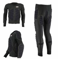 MOTORCYCLE MOTORBIKE BODY ARMOUR PROTECTIVE EMBOSSING SUIT IMPACT AREA GEAR