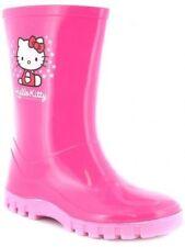 Hello Kitty Girls' Rubber Wellington Boots