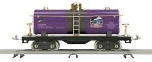 MTH Tinplate 500 Series Std. Gauge Tank Car Purple & Black  10-2238 MTHRRC