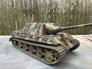 JAGDTIGER FULLY Built  Tank 1/18th Scale   NOT 1/16  Ultimate Soldier