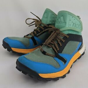 Adidas Supernova Riot Hiking Boots Shoes Women's Size 8.5 Colorful Continental