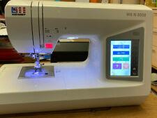 W6 Wertarbeit N8000 N 8000 Computergesteuerte Nähmaschine 2 Mon. alt wie neu