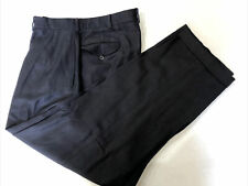 Polo Ralph Lauren Men's Blue Solid LINEN Dress Pants 33X29 $98