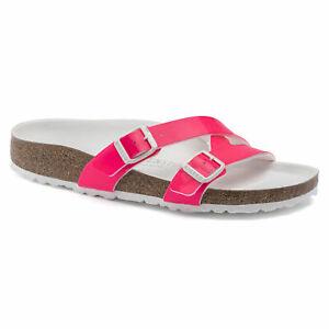 Women's Birkenstock Neon Pink Yao Balance
