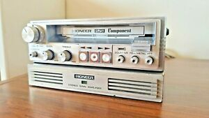 Vintage Pioneer KP-707M Component Car Stereo & GM-4 2X20W Amplifier