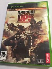 ORIGINAL XBOX GAME SHADOW Ops RED MERCURY +BOXED By ATARi  PAL