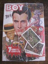 Corrier Boy Music Anno? # 51-52 Fumetti Italian Language w / bonus cards