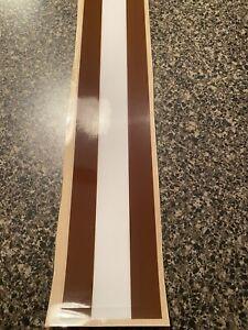 Cleveland Browns Custom Football Helmet Stripe Decal Tape 20 mil 3M
