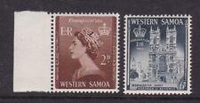 SAMOA 1953 CORONATION SET NEVER HINGED MINT
