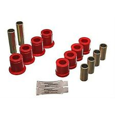 Energy Suspension Control Arm Bushings Front Upper/Lower Polyurethane Red Fits