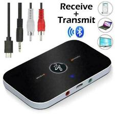 More details for 2 in 1 wireless bluetooth audio transmitter receiver hifi music adapter aux rca