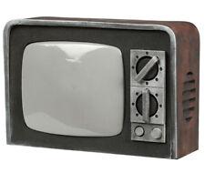 Halloween Prop HORROR VINTAGE TV con suono & luce spettrale casa stregata Retrò