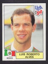 Panini-EE. UU. Copa Mundial 94 - # 375 Luis Alves-México (Negro atrás)