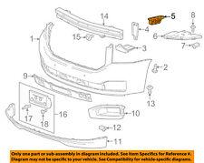 GMC GM OEM 15-17 Yukon XL Front Bumper-Bumper Cover Guide Left 22806324