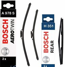 Bosch Front and Rear Wiper Blades Set 650mm+425mm+350mm | A978S+H351
