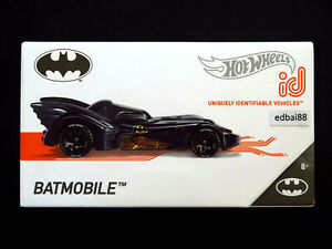 Hot Wheels id Die-cast Car 1989 Classic Batmobile, Batman Series #05/05 New