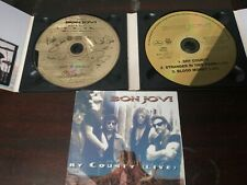 "Bon Jovi ""Dry Country"" 2xCDs Golden UK Import RARE! VG+"