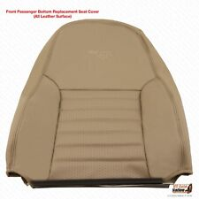 1999 2000 2001 Ford Mustang GT Passenger Lean Back Cover Perforated Leather Tan