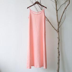 Vintage Cami Full Slip Dress Nightgowns Chemise Liner Dress Loose Petticoat XL