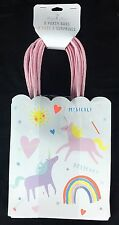 Unicorn Rainbow Theme Party Supply Birthday 8 Party Favor Treat Bags NWT