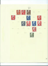 Stamps: Denmark: 8 Pages 1974-1982 (P25-33)