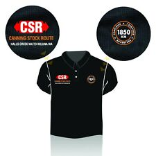 CSR Canning Stock Route Polo Shirt - size 3XL
