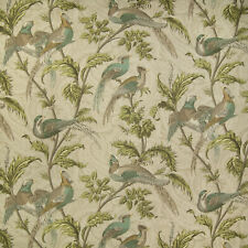 Braemore PHEASANT HUNT Paisley Print BIRCH Home Decor Drapery Sewing Fabric BTY