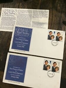 2 - GB 1981 Royal Wedding Oversized FDC London with encl Insert By Questa