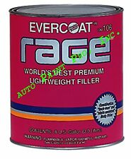 Auto body shop paint Evercoat Rage Premium Lightweight Body Filler Gal. #106
