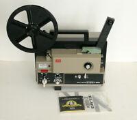 Elmo ST-180E M 2-Track Super 8mm Film Projector - Needs belts