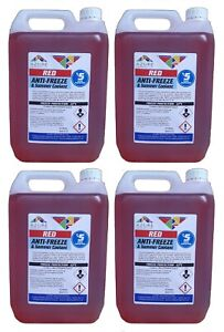 Odessa Red Antifreeze & Summer Coolant Concentrate For All Engine Types - 20L