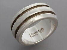 TIFFANY & CO. Sterling Ring, Size 6 ~ Everyday appeal!