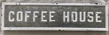 Retro Coffee House Metal Sign