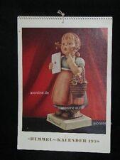"Goebel Hummel Kalender Calendar 1958, Titel ""Die Gratulantin"" 13/V"