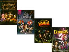 4 DVD SET- La Leyenda de La Nahuala, La LLorona, Momias, Chupacabras- New Dvd's