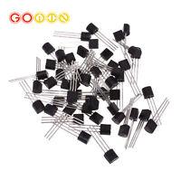 50PCS BS170 MOSFET N-CH 60V 500MA TO-92 FSC NEW