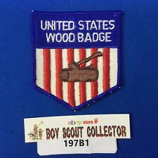Boy Scout United States Woodbadge Patch