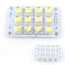 DC 3V-5V 12-LED Super Bright White Piranha LED Board Night LED Lamp Lights