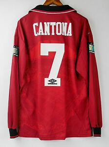 Manchester United Cantona 1996 Final FA Cup home retro shirt classic jersey
