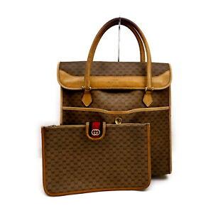 Gucci Tote Bag  Light Brown PVC 1538274